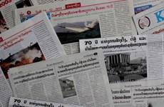 Báo chí Lào đưa tin về ngày thành lập Quân đội Nhân dân Việt Nam