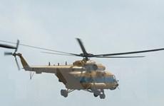 Trực thăng Không quân cấp cứu một bệnh nhân ở Phú Quốc