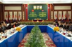 Bộ trưởng Công an Trần Đại Quang thăm và làm việc tại Campuchia