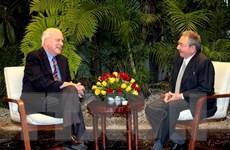 Nhóm nghị sỹ thuộc đảng Dân chủ của Mỹ tới thăm Cuba