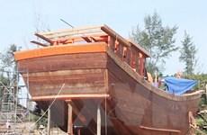 Ký hợp đồng tín dụng dự án đóng tàu vỏ sắt tại Bà Rịa-Vũng Tàu