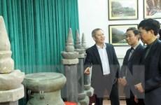 Ninh Bình: Trưng bày hơn 300 cổ vật có niên đại hàng nghìn năm