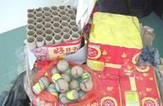 Liên tiếp bắt giữ các vụ vận chuyển pháo trái phép tại Lào Cai