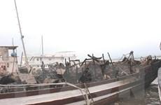 Tạm dừng hoạt động đội tàu du lịch Hạ Long Biển Ngọc sau vụ cháy