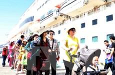 """200 khách du lịch đường biển của Star Pride """"xông đất"""" Đà Nẵng"""