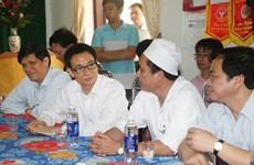 Phó Thủ tướng Vũ Đức Đam chúc mừng ngành y tế tỉnh Vĩnh Phúc
