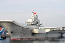 Trung Quốc bắt đối tượng rao bán hình ảnh tàu sân bay Liêu Ninh