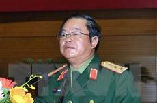 Thượng tướng Đỗ Bá Tỵ tiếp Tư lệnh Hải quân Philippines