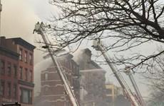 Nổ lớn tại New York làm sập 2 tòa nhà, gây thương vong lớn