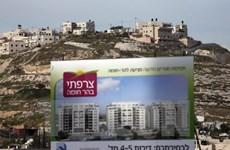 EU sẽ gây sức ép để Israel không mở rộng các khu định cư