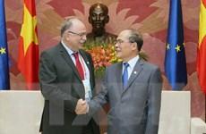 Nghị viện châu Âu sẵn sàng hợp tác với Quốc hội Việt Nam
