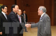 Trưởng ban Tổ chức Trung ương Tô Huy Rứa tiếp Đoàn Nghị sỹ Nhật Bản