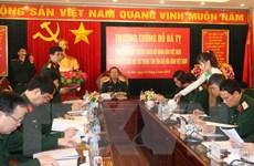 Tổng Tham mưu trưởng làm việc tại Trung tâm Gìn giữ hòa bình