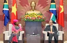 Đưa hợp tác hai nước Việt Nam-Nam Phi tương xứng với tiềm năng