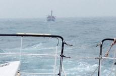 Đưa 35 ngư dân gặp nạn ở vùng biển Trường Sa vào bờ an toàn