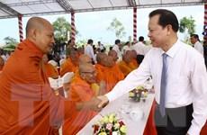 Mừng Tết cổ truyền Chol Chnam Thmay của đồng bào Khmer Nam Bộ