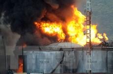 Brazil dập tắt được vụ cháy tại kho chứa dầu ở cảng Santos