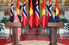 Thủ tướng Na Uy kết thúc tốt đẹp chuyến thăm chính thức Việt Nam