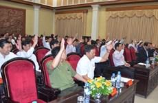 Bầu bổ sung hai phó chủ tịch Ủy ban Nhân dân tỉnh Hà Nam