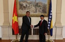 Đại sứ Việt Nam tại Bosnia và Herzegovina trình Thư ủy nhiệm