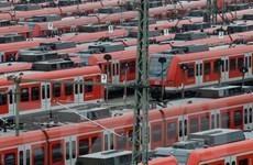 Đức thiệt hại hàng trăm triệu euro vì các lái tàu đình công