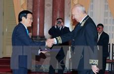 Nga đánh giá cao sự kiện Chủ tịch nước dự lễ Duyệt binh