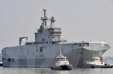 Báo Nga: Pháp đề xuất hủy hợp đồng giao tàu chiến Mistral