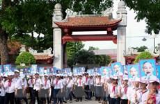 Khai mạc Lễ hội Làng Sen năm 2015 tại tỉnh Nghệ An