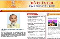 Chính thức khai trương Trang thông tin điện tử Hồ Chí Minh