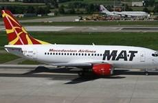 Máy bay chở Thủ tướng Macedonia phải hạ cánh khẩn cấp