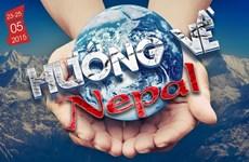 """Triển lãm ảnh """"Hướng về Nepal"""" tại Thành phố Hồ Chí Minh"""