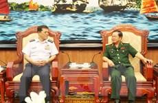 Tham mưu trưởng Lực lượng Tự vệ trên không Nhật Bản thăm Việt Nam