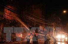 Cháy nhà trong đêm, hai người tử vong, một người bị bỏng nặng