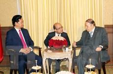 Thủ tướng Chính phủ Nguyễn Tấn Dũng hội kiến Tổng thống Algeria
