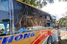 Kon Tum: 5 đối tượng khai nhận ném đá lên xe khách ở Đăk Glei