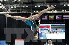 Hà Thanh tiếp tục giành huy chương vàng nhảy chống nữ