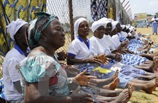 """Liberia bắt đầu nghiên cứu hội chứng """"hậu Ebola"""" ở người khỏi bệnh"""