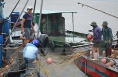 Hải Phòng: Bão số 1 đánh chìm hai tàu, làm 1 người bị thương