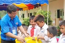 Thanh niên Hà Nội tổ chức hoạt động thiện nguyện tại Lào