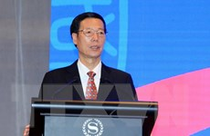 Phó Thủ tướng Quốc vụ viện Trung Quốc gặp cựu lưu học sinh Việt