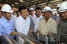 Chủ tịch nước thăm và làm việc tại tỉnh Bà Rịa-Vũng Tàu