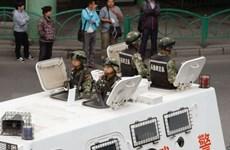 Trung Quốc diễn tập chống khủng bố tại sân bay Tân Cương