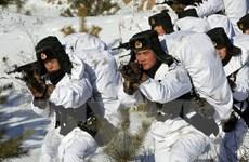 Trung Quốc lập mô hình Dinh Tổng thống Đài Loan để luyện tập tác chiến