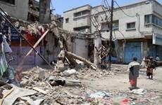 IS đánh bom nhà thờ Hồi giáo tại Yemen làm 130 người thương vong