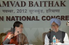 Bà Sonia Gandhi được gia hạn nhiệm kỳ Chủ tịch đảng Quốc đại