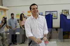 Đảng Syriza của nhà lãnh đạo Alexis Tsipras thắng cử ở Hy Lạp