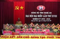 Phó Thủ tướng dự lễ khai mạc Đại hội Đảng bộ tỉnh Nghệ An