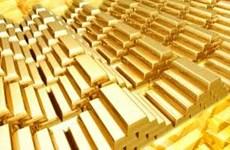 Giá vàng châu Á ở gần mức cao ba tháng rưỡi trong phiên 15/10