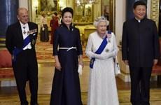 Nữ hoàng Elizabeth II đón Chủ tịch Trung Quốc tại Điện Buckingham