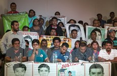 Mexico lật lại hồ sơ vụ 43 sinh viên bị thủ tiêu và đốt xác
